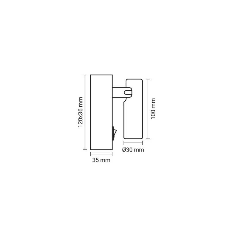 Tubo LED T8 1500mm de cristal 22W Opal