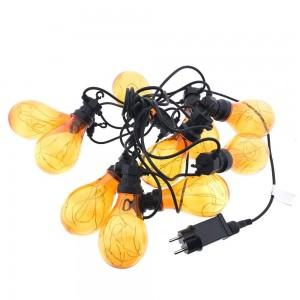 Guirnalda luces LED exterior