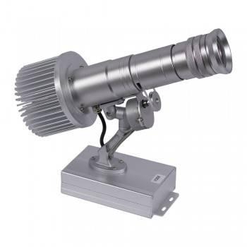 Proyector de logos LED de largo alcance 30W rotativo