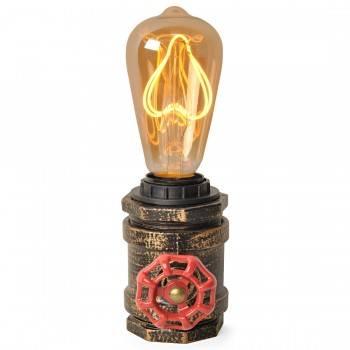 Lámpara de mesa tubería