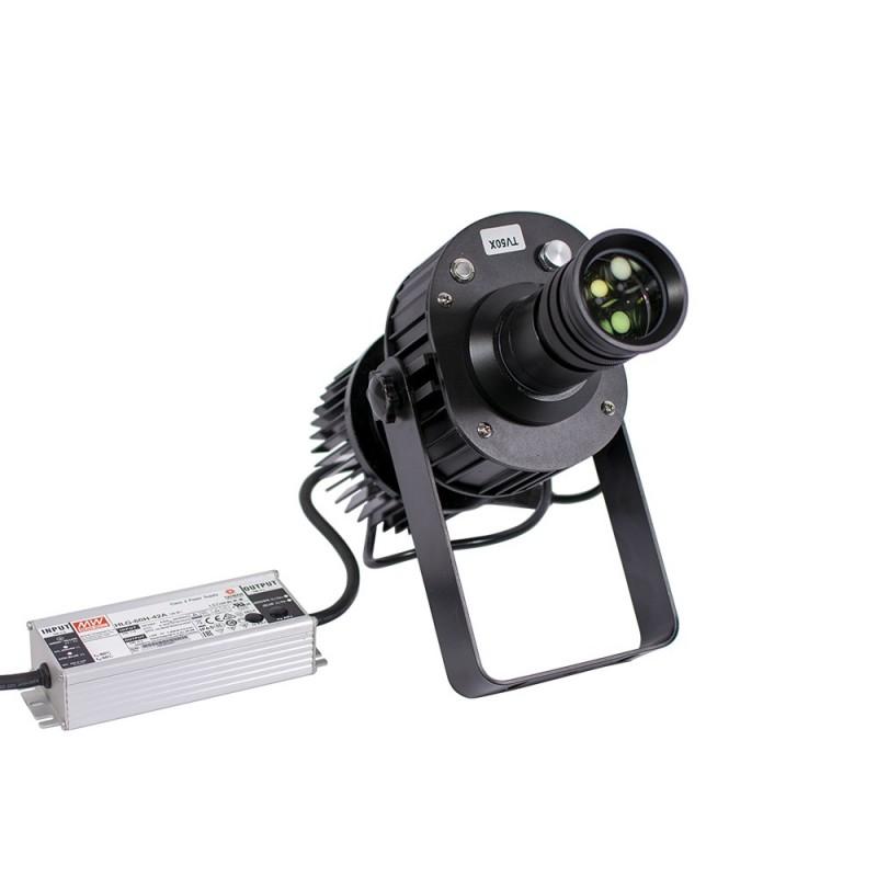Proyector de logos LED  de largo alcance 50W estanco para exterior