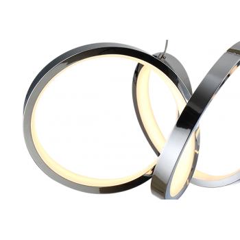 Aro empotrable redondo para dicroica LED Color blanco, no basculante