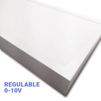 Panel LED Regulable de Superficie 120x30 con Driver 0-10V
