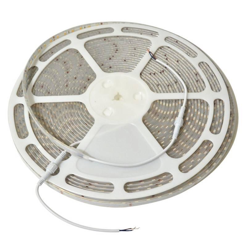 Tira LED 5m, 12V-DC, SMD 5630, 75W, IP20, Blanco Frío