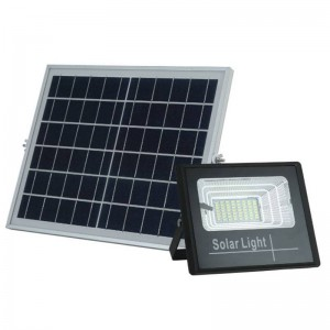 Proyector LED solar 40W con...
