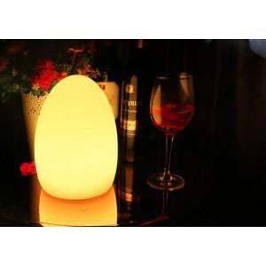 Huevo luminoso LED RGBW