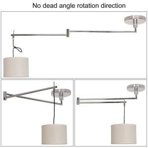 Lámpara colgante articulada