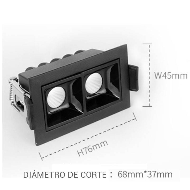 Dicroica LED GU10 5W 230V