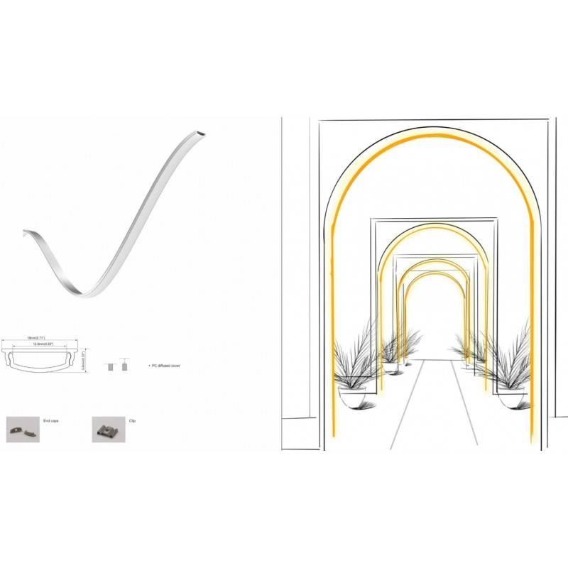 Mecanismo potenciometro giratorio, señal radiofrecuencia, 1 zona de control