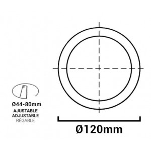 Downlight Plafón LED Multifuncional CCT 8W