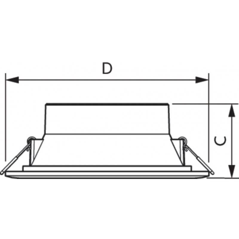 KIT Perfil de aluminio de superficie 17X8mm con difusor opal