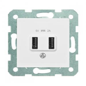 Cargador Doble USB 5V 2A -...
