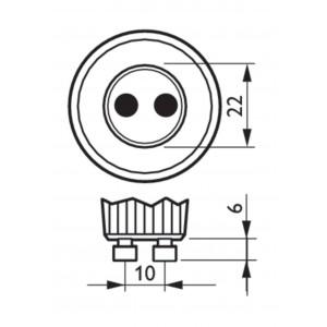 Bombilla LED Vela E14 4W de Filamento