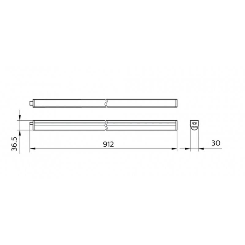 Bombilla lineal LED R7S 10W