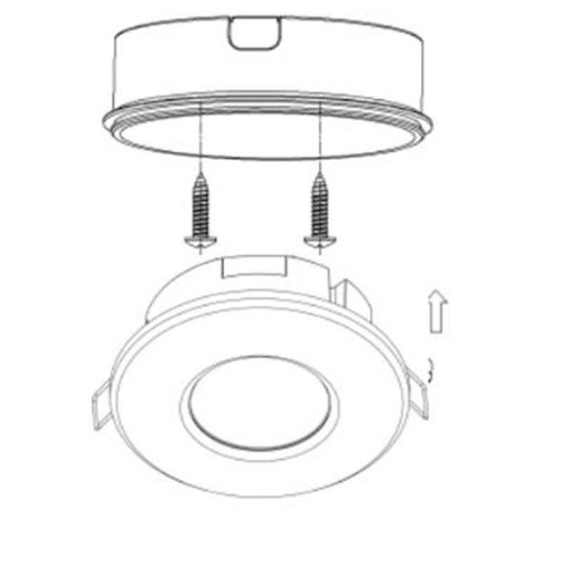 Panel LED Regulable de Superficie 60x60 con Driver 0-10V