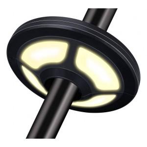 Luminaria LED recargable para sombrillas