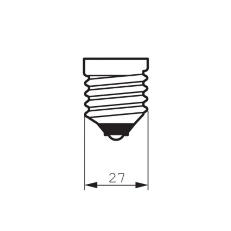 Unión rígida 90º exterior para carril trifásico