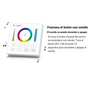 Panel inteligente Controlador Remoto RGB+CCT   Mi Light