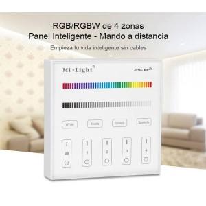 Control remoto de 4 zonas RGB y RGBW | Mi Light