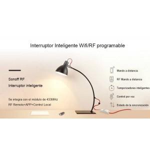 Interruptor Inteligente Wifi/RF programable   SONOFF BASIC