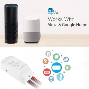 Interruptor Inteligente DUAL Wifi programable | SONOFF
