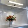 Aplique de espejo para baño 6W opal tubular 40cm