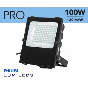 Foco proyector LED 100W Chip Philips IP65