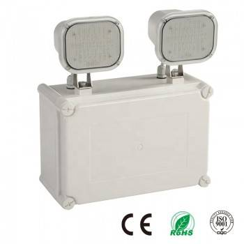Luz de Emergencia LED Industrial Doble 2x6W IP65