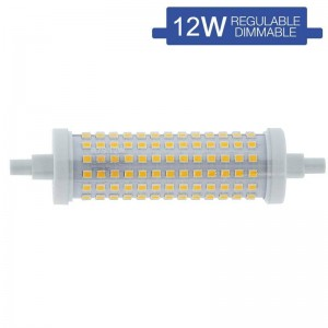 Bombilla LED R7S regulable 118mm 12W 230V 1200lm