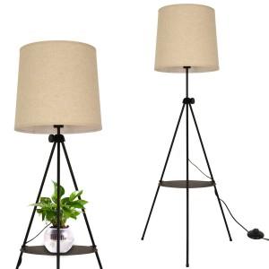 lámparas de pie con mesita