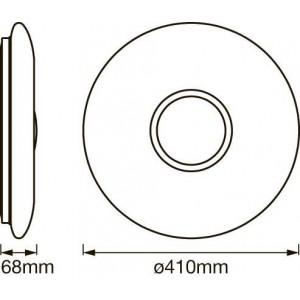 Plafón LED 410mm