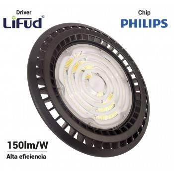 Campana Industrial UFO 150W Philips LED Regulable 1-10V