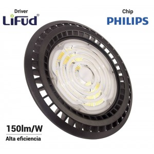 Campana Industrial UFO 150W Philips LED Regulable 1-10V