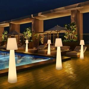 Mobiliario LED jardín