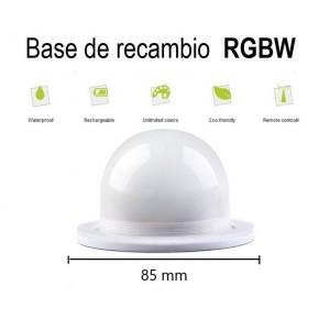 base de recambio RGBW