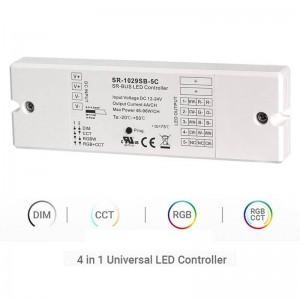 Controlador DIM CCT RGBW RGB+CCT POR RF+BLE | 4 en 1 CC