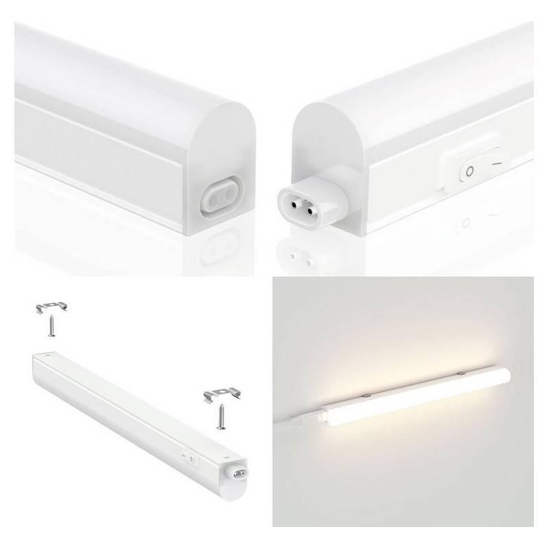 Regleta LED bajomuebles T5 120cm