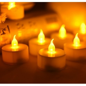 Pack de 6 velas decorativas...