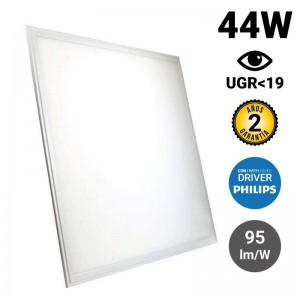 Panel LED empotrable 60X60cm 44W 3960LM UGR19 Philips Driver