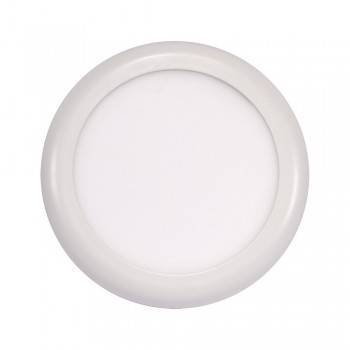 PANEL LED UNIVERSAL CIRCULAR SUPERFICIE/EMPOTRABLE  AJUSTABLE 18W SLIM Ø230MM BLANCO 120º