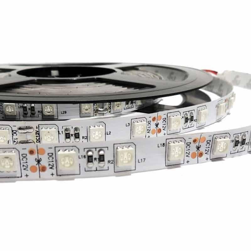 Tira LED 5M, 12V-DC, 72W, IP20, SMD 5050, Monocolor