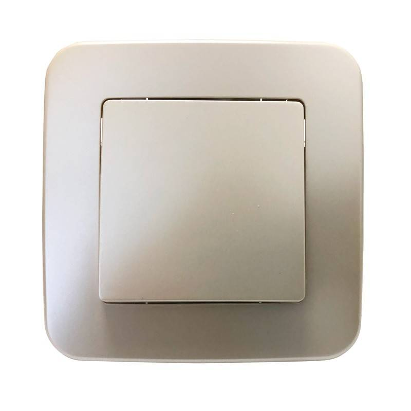 Mecanismo interruptor simple empotrable
