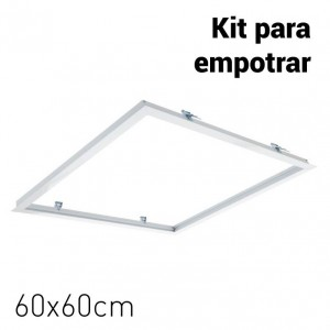 Kit Marco empotrable para Paneles LED 60x60