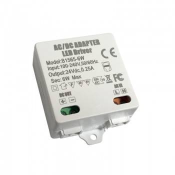 Fuente de alimentación constante 24V DC 6W 0.25A 100-240V