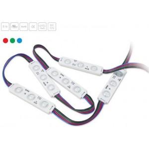 Cadena de 20 módulos LED...