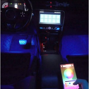 luces LED coches