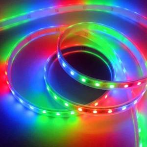 Tira LED IC 12V 72W (300 SMD 5050 RGB) MULTICOLOR