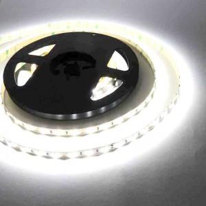 Tira LED 5m, 12V-DC, SMD 5630, 75W, IP20, Blanco Extra Frío, 10000K