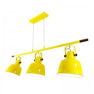 lámparas colgantes orientables triple foco