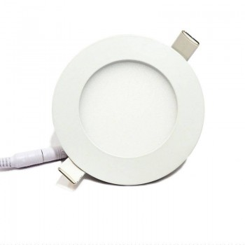 Downlight LED extraplano circular 6W